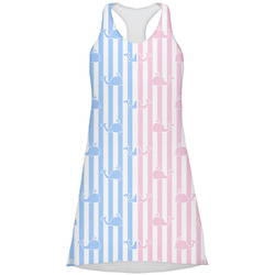 Striped w/ Whales Racerback Dress (Personalized)