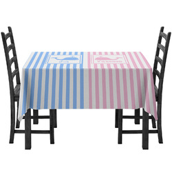 Striped w/ Whales Tablecloth (Personalized)