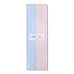 Striped w/ Whales Runner Rug - 3.66'x8' (Personalized)