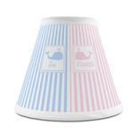 Striped w/ Whales Chandelier Lamp Shade (Personalized)