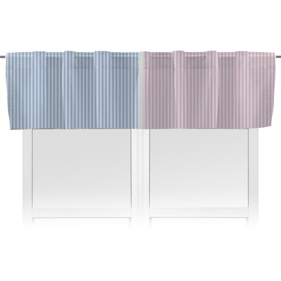 Striped w/ Whales Valance (Personalized)