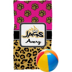Jags w/Pink Beach Towel (Personalized)