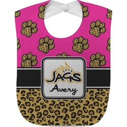 Jags w/Pink Baby Bib (Personalized)