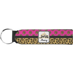 Jags w/Pink Keychain Fob (Personalized)