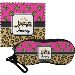 Jags w/Pink Eyeglass Case & Cloth (Personalized)