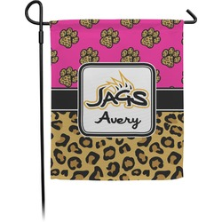 Jags w/Pink Garden Flag (Personalized)