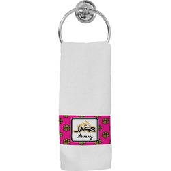 Jags w/Pink Hand Towel (Personalized)