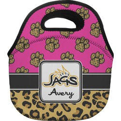 Jags w/Pink Lunch Bag - Small (Personalized)