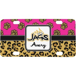 Jags w/Pink Mini License Plate (Personalized)
