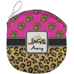 Jags w/Pink Round Coin Purse (Personalized)