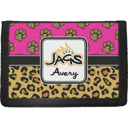Jags w/Pink Trifold Wallet (Personalized)