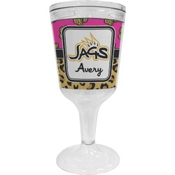 Jags w/Pink Wine Tumbler (Personalized)