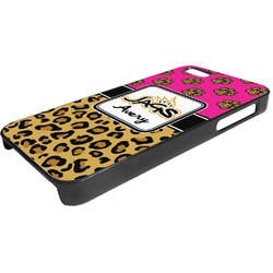 Jags w/Pink Plastic iPhone 5/5S Phone Case (Personalized)
