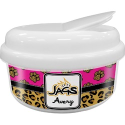 Jags w/Pink Snack Container (Personalized)