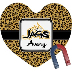 Jags Heart Fridge Magnet (Personalized)