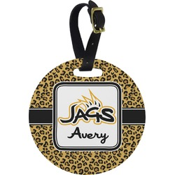 Jags Round Luggage Tag (Personalized)