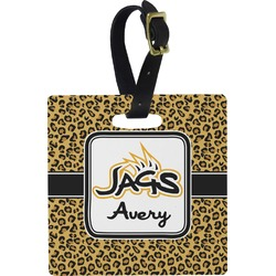 Jags Square Luggage Tag (Personalized)