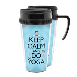 Keep Calm & Do Yoga Acrylic Travel Mugs
