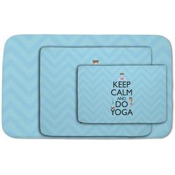 Keep Calm & Do Yoga Area Rug