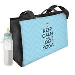 Keep Calm & Do Yoga Diaper Bag