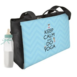 Keep Calm & Do Yoga Diaper Bag