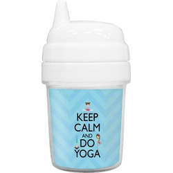 Keep Calm & Do Yoga Baby Sippy Cup