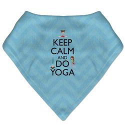 Keep Calm & Do Yoga Bandana Bib
