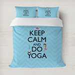 Keep Calm & Do Yoga Duvet Covers