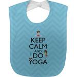 Keep Calm & Do Yoga Baby Bib
