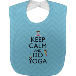 Keep Calm & Do Yoga Baby Bib