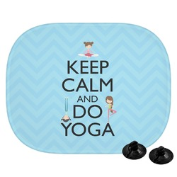 Keep Calm & Do Yoga Car Side Window Sun Shade