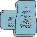 Keep Calm & Do Yoga Car Floor Mats