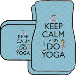 Keep Calm & Do Yoga Car Floor Mats