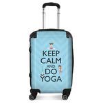 Keep Calm & Do Yoga Suitcase