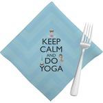 Keep Calm & Do Yoga Napkins (Set of 4)