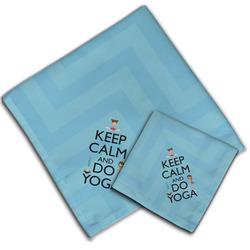 Keep Calm & Do Yoga Cloth Napkin