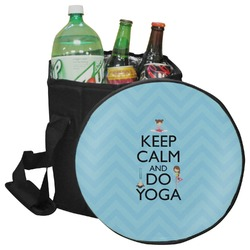 Keep Calm & Do Yoga Collapsible Cooler & Seat