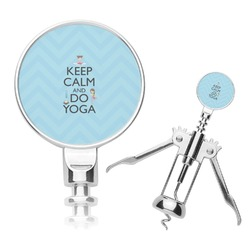 Keep Calm & Do Yoga Corkscrew