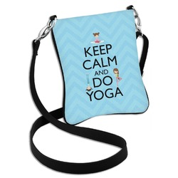 Keep Calm & Do Yoga Cross Body Bag - 2 Sizes