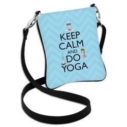 Keep Calm & Do Yoga Cross Body Bag - 2 Sizes
