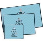 Keep Calm & Do Yoga Door Mat