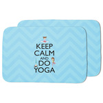Keep Calm & Do Yoga Dish Drying Mat