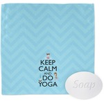 Keep Calm & Do Yoga Wash Cloth