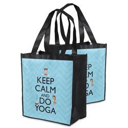 Keep Calm & Do Yoga Grocery Bag