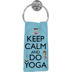 Keep Calm & Do Yoga Hand Towel - Full Print