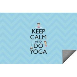 Keep Calm & Do Yoga Indoor / Outdoor Rug