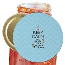 Keep Calm & Do Yoga Jar Opener