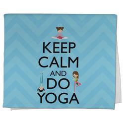 Keep Calm & Do Yoga Kitchen Towel - Full Print