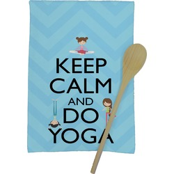 Keep Calm & Do Yoga Kitchen Towel - Full Print