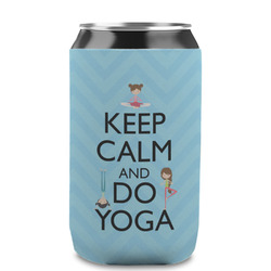 Keep Calm & Do Yoga Can Sleeve (12 oz)